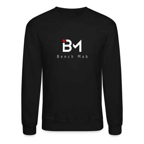 Bench Mob Logo (white) - Unisex Crewneck Sweatshirt