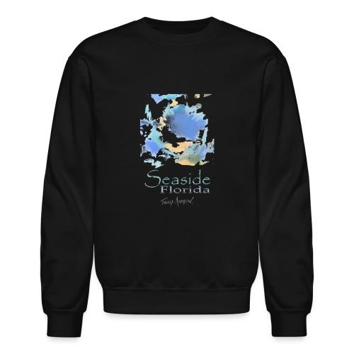 Seaside Shirt Design 5 no border - Unisex Crewneck Sweatshirt