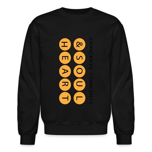 Heart & Soul Concerts Golden Flip - Unisex Crewneck Sweatshirt