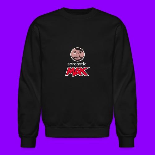 SarcasticMax cola beverage logo - Unisex Crewneck Sweatshirt