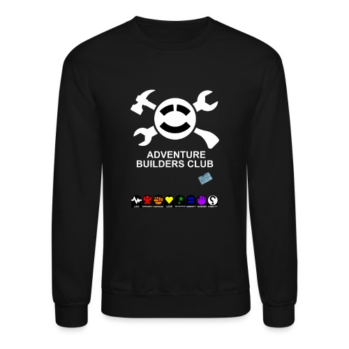 Adventure Builders Club - Unisex Crewneck Sweatshirt