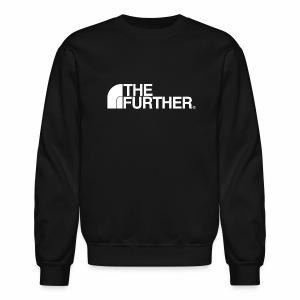 THE FURTHER FACE (WHITE LOGO) - Crewneck Sweatshirt