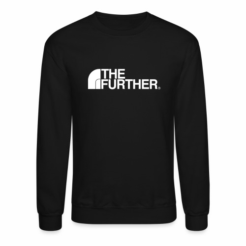 THE FURTHER FACE (WHITE LOGO) - Crewneck Sweatshirt