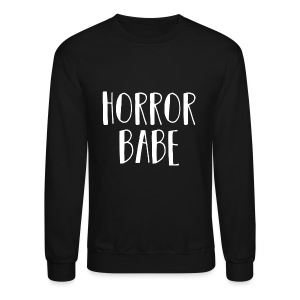 HorrorBabe - Crewneck Sweatshirt