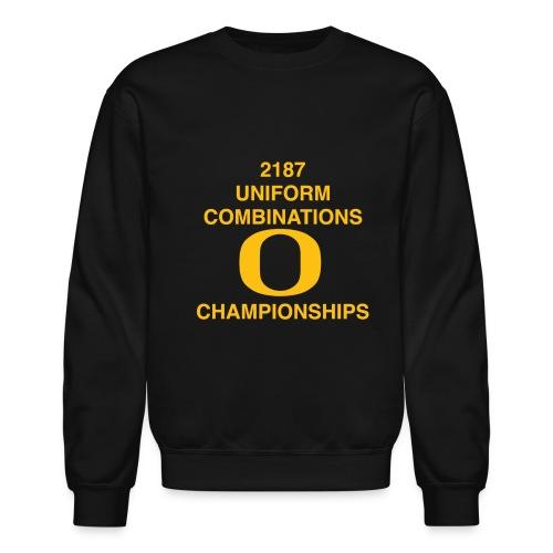 2187 UNIFORM COMBINATIONS O CHAMPIONSHIPS - Crewneck Sweatshirt