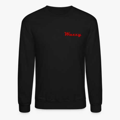 Wazzy Black and Red - Crewneck Sweatshirt