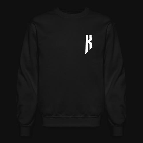 Knight White Logo - Crewneck Sweatshirt