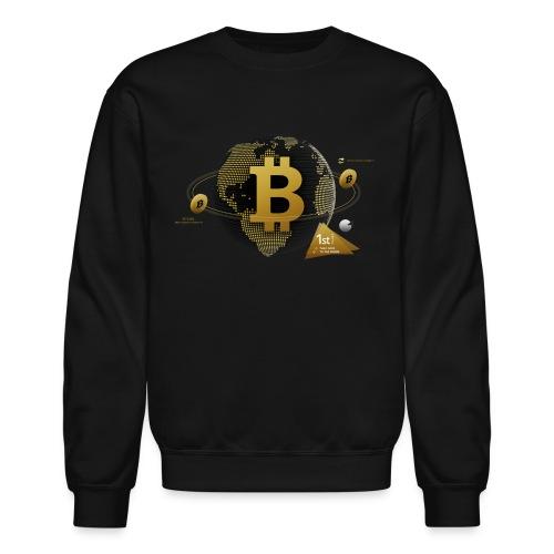 Bitcoin World - Crewneck Sweatshirt