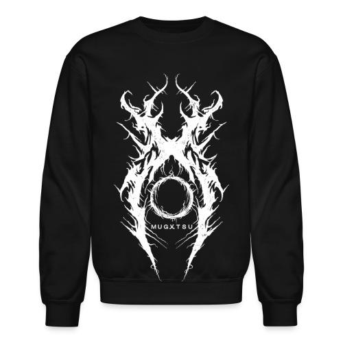 MUGXTSU White X Logo - Crewneck Sweatshirt