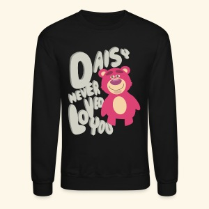 Daisy never loved you - Crewneck Sweatshirt