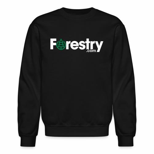 forestry com white - Crewneck Sweatshirt