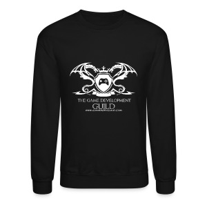 White Game Development Guild Crest - Crewneck Sweatshirt