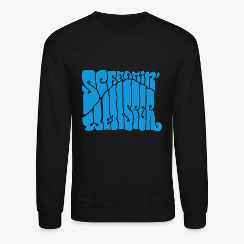 Screamin' Whisper Retro Logo - Crewneck Sweatshirt
