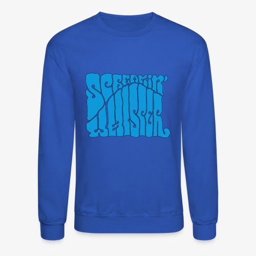 Screamin' Whisper Retro Logo - Crewneck Sweatshirt