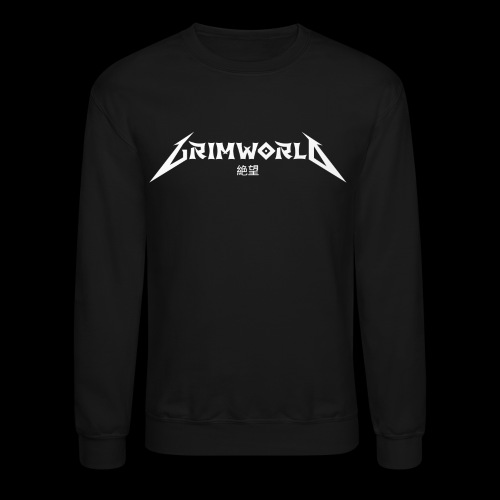 GRIMWORLD LOGO COKE WHITE - Crewneck Sweatshirt