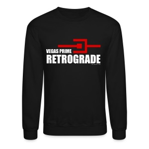 Vegas Prime Retrograde - Title and Hack Symbol - Crewneck Sweatshirt