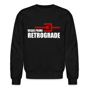 Vegas Prime Retrograde - Title and Hack Symbol - Crewneck Sweatshirt