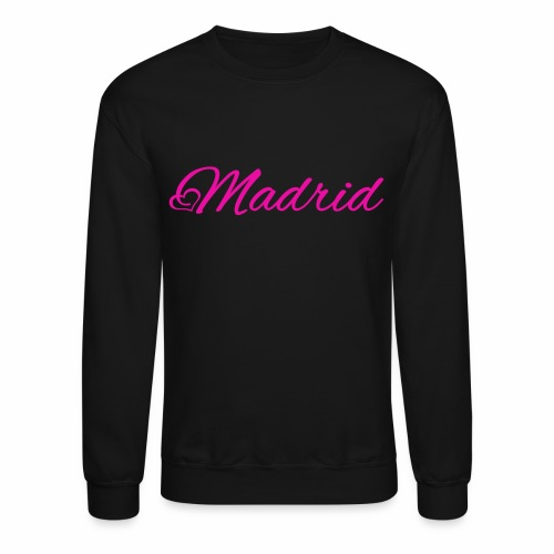 MADRID in PINK - Crewneck Sweatshirt