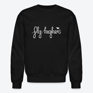 Fly Higher - White - Crewneck Sweatshirt