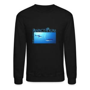 Respect The Shark - Crewneck Sweatshirt