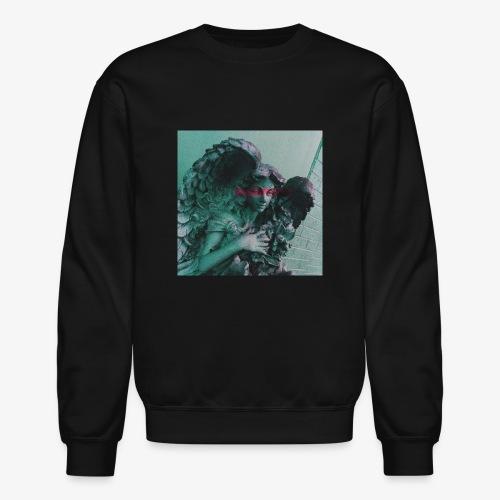 Blue Angel Pink Eyes - Crewneck Sweatshirt