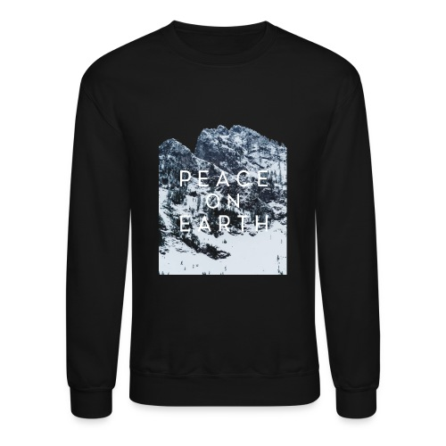PEACE ON EARTH - Crewneck Sweatshirt