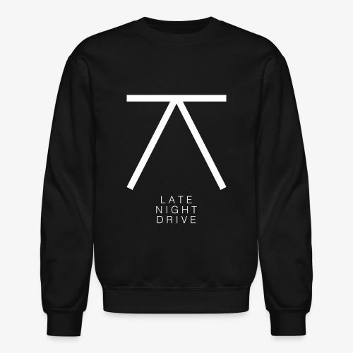 LND Logo White - Crewneck Sweatshirt