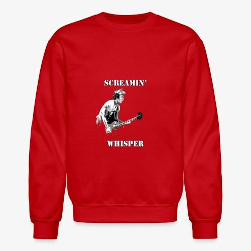 Screamin' Whisper Filth Design - Crewneck Sweatshirt