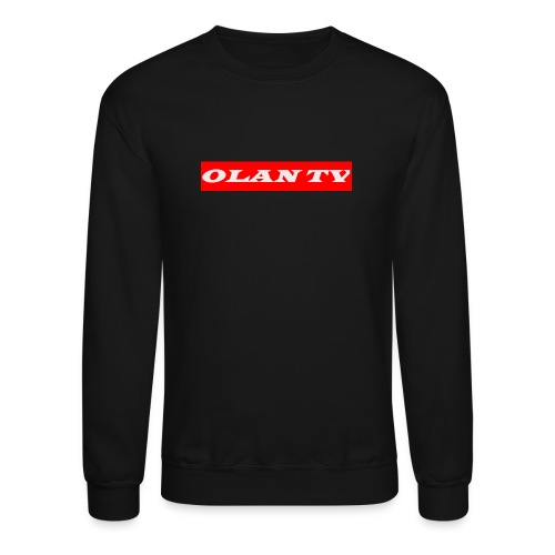 OLAN TV SUPREME TYPE LOGO - Crewneck Sweatshirt