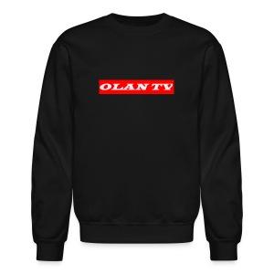 OLAN TV SUPREME TYPE LOGO - Crewneck Sweatshirt