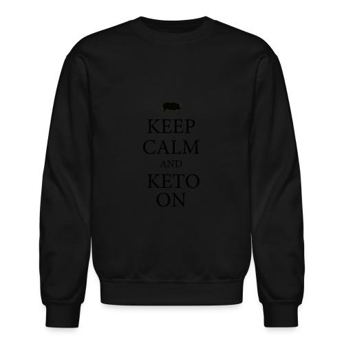 Keto keep calm2 - Crewneck Sweatshirt