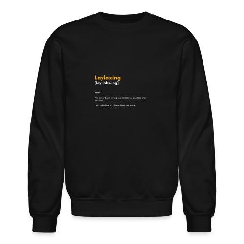 laylaxing gold - Crewneck Sweatshirt