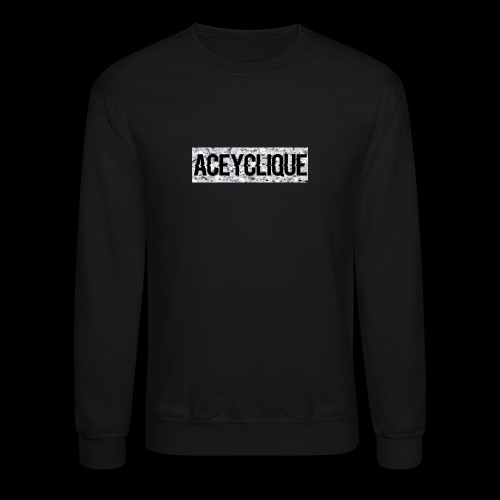 AceyClique Diamond Box Logo - Crewneck Sweatshirt