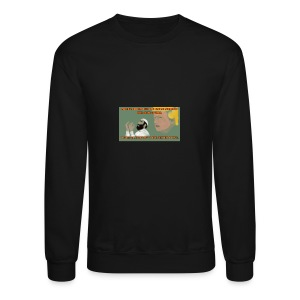 Aggression never solved anything - Crewneck Sweatshirt