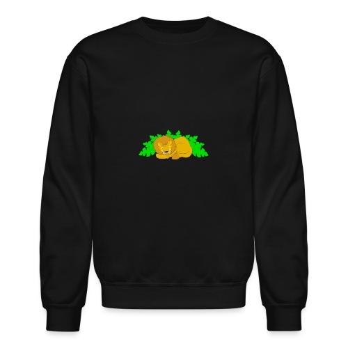 Sleeping Lion - Crewneck Sweatshirt