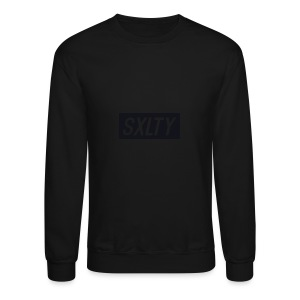 *Dark Blue SXLTY Logo* REGULAR TSHIRT. - Crewneck Sweatshirt