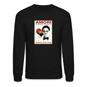 Amori for Mayor of Los Angeles eco friendly shirt - Crewneck Sweatshirt