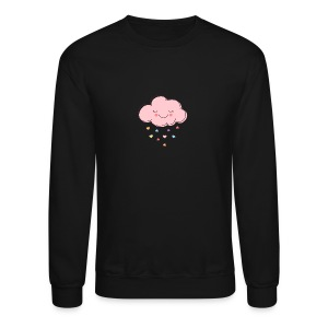 Raining Hearts - Crewneck Sweatshirt