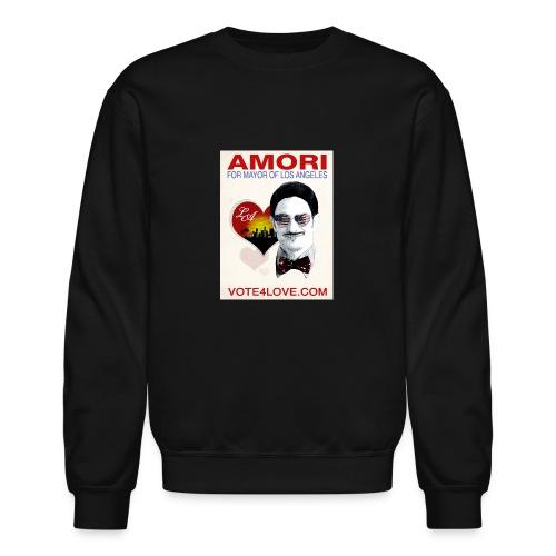 Amori for Mayor of Los Angeles eco friendly shirt - Crewneck Sweatshirt