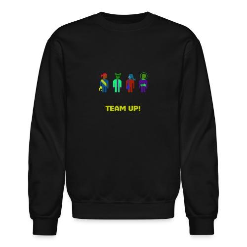 Spaceteam Team Up! - Crewneck Sweatshirt