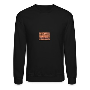 Midwest Monsters Wood Logo - Crewneck Sweatshirt