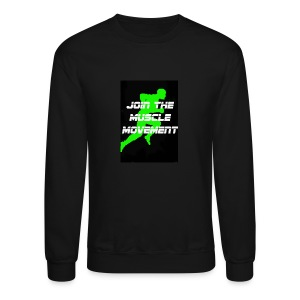 muscle movement - Crewneck Sweatshirt