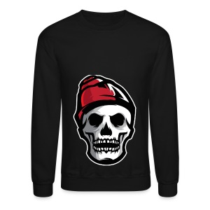 Custom Skull With Ice Cap Merch! - Crewneck Sweatshirt