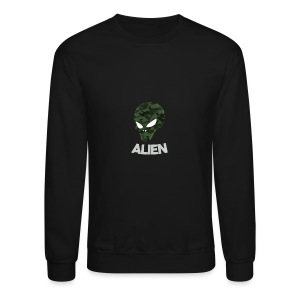 Military Alien - Crewneck Sweatshirt