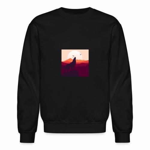 Howling Wolf - Crewneck Sweatshirt