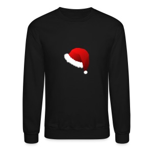 Carmaa Santa Hat Christmas Apparel - Crewneck Sweatshirt