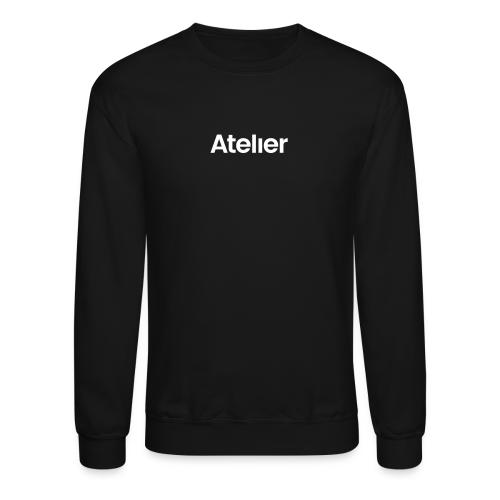 Black/White nametag - Crewneck Sweatshirt