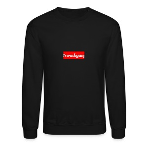 #swoshgang box logo - Crewneck Sweatshirt