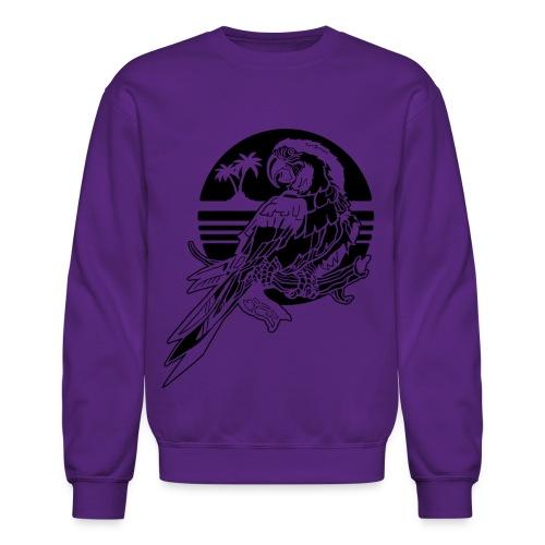 Tropical Parrot - Crewneck Sweatshirt