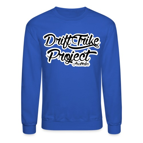 Drift Trike Project Back png - Crewneck Sweatshirt